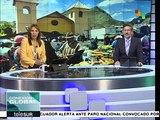 Ecuador: en Imbabura protestan cerca de 200 contra el gobierno