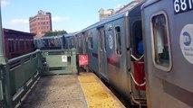 IRT Subway Line: R142 (2) (5) Trains @ Simpson Street