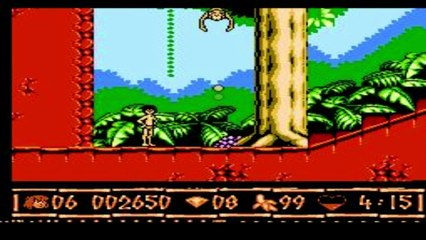 Gry Dla Dzieci: Jungle Book Księga Dżungli NES/Pegasus- GRAJ Z NAMI