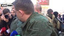 Zakharchenko: Oddesits, you were and always will be our brothers, and we will always help