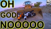 OMG a Horrific Bulldozer Accident that didn't REALLY HAPPEN