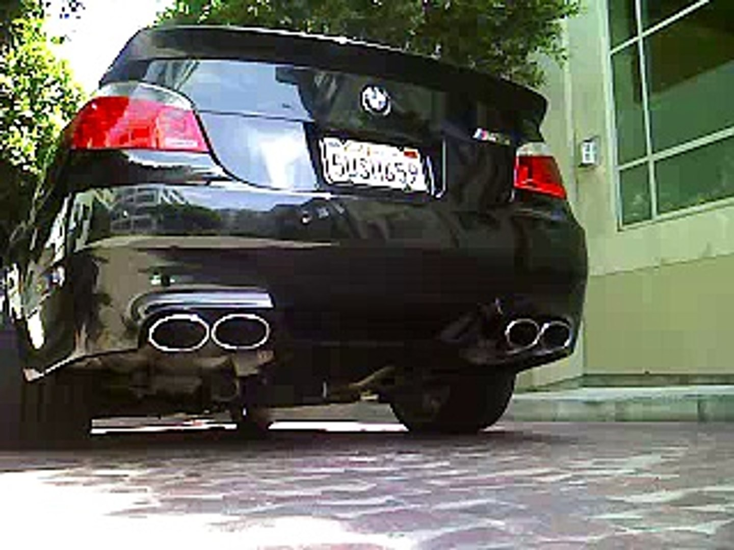 Eisenmann Race Exhaust On Bmw E60 M5 Great Sound Dailymotion Video
