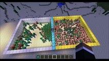 MUTANT ZOMBIE VS HULK - Minecraft Mod Battle - Mob Battles - Superheroes and Mutant Creatu