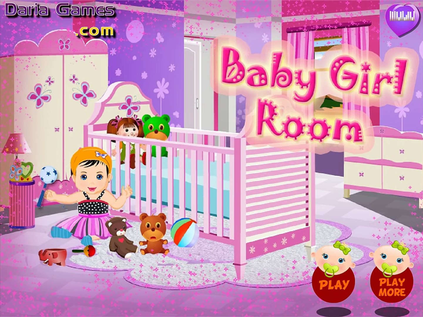 For kids — Baby Girl Room — Video For KId Baby Videos Movie Games For Kids