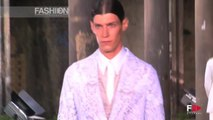 ALEXANDER MCQUEEN Spring Summer 2014 Menswear London HD by Fashion Channel