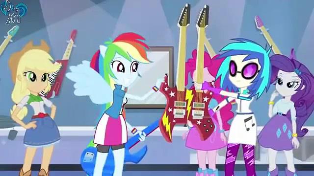 MLP: Equestria Girls Rainbow Rocks Guitar Centered [Exclusive Short]