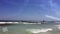 Blue Angel Jets Fly Low  Jet Stream