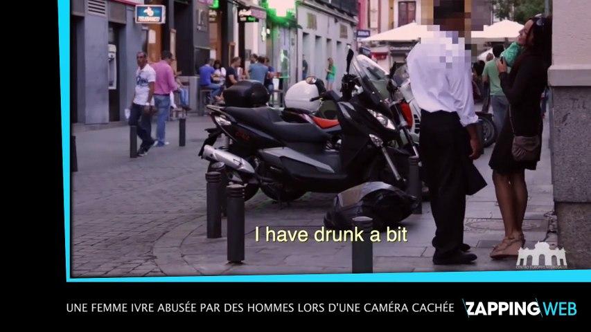 Une femme ivre abusée par des hommes lors d'une caméra cachée (vidéo)