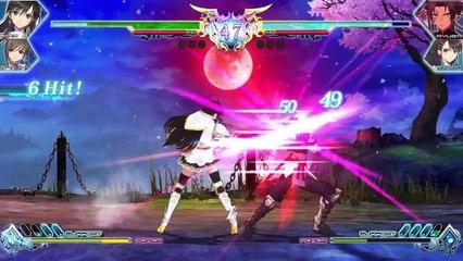 Gameplay Sonia de Blade Arcus from Shining EX