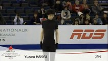 Yuzuru Hanyu SP run-trough  Skate Canada 2015 1030