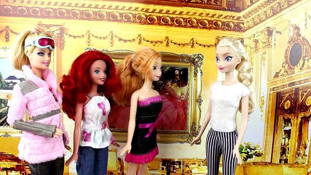 Will Frozen Anna & Kristoff Kiss? Will Ariel The Little Mermaid &Merman Kiss?Will Barbie &