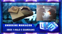 Unboxing Maniacon - Xbox 1 - Halo 5 Guardians Bundle Digital Deluxe