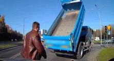Le geste de ce conducteur va sauver la vie d'un chauffeur routier