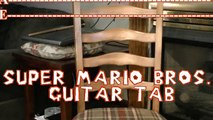 Super Mario Bros Guitar Tab Lesson How to Play