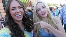 On Set with Claudia Sulewski - We Got Glam with 'Descendants' Star Dove Cameron For the Teen Choice Awards!