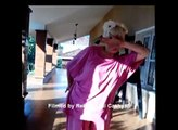 Uppi 2 Mania..German lady  dancing..( Indian film Star..A innovative director-actor))