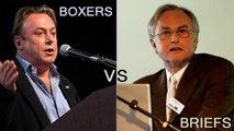 Boxers VS Briefs (RARE: Dawkins and Hitchens Debate)