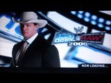 Smackdown vs Raw General Manager mode part 1 (Smackdown)