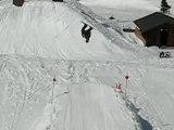 Enorme chute a Avoriaz ( owned regis )