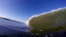 Surfing Tubes in San Diego