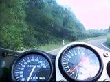 ZX7r Kawasaki nearly TopSpeed A542