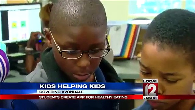 Students create app for healthy eating