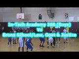 In-Tech Academy 368 vs Bronx School/Law, Govt & Justice