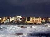 tempête 24 janvier 2009 biarritz anglet