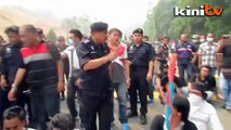Padang Merbok campers charge towards Parliament, 26 detained