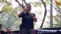 Black 505 (4.30pm): Khalid Samad giving speech at Padang Merbok