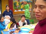 Feria de comidas tipicas del Perú