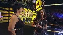 AJ Kisses Dolph Ziggler - WWE Slammy Awards 2012 (Kiss Of The Year)