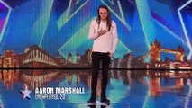 Britain's Got Talent 2015 - Aaron's rendition of Let It Go