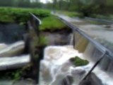 River destroyed and flooded the small bridge | May 2010 - Flood in south Poland (Silesia)