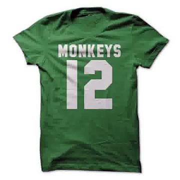 Custom t shirt Monkeys 12