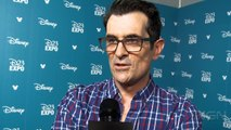 Finding Dory  Ed O'Neill and Ty Burrell Interview  D23 Expo 2015