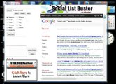 Email extractor for Facebook,Twitter,Myspace,LinkedIn,Google Plus,myspace,xing,ning,plurk