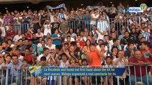 Málaga Club de Fútbol Televisión. Lunes 23/05/11. Presentación colección Nike-Málaga C.F.
