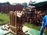Chevalet pour débiter du bois de chauffage en buche de 30 cm ou  50 cm