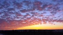 Time lapse of final 2013 Inuvik sunrise & sunset