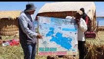 Visitando las Islas Flotantes de Los Uros Lago Titicaca - Perú