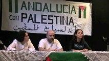 Sevilla con Palestina acto Flotilla por la Libertad de Gaza