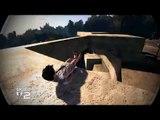 Skate 2 - Backwards Laying Grind