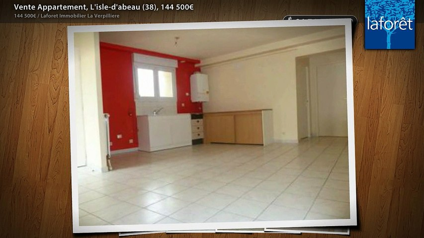 Vente Appartement, L'isle-d'abeau (38), 144 500€