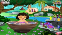 Dora Cute Bathing Game for kids girls cartoon