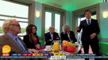 Brian May 'Good Morning Britain' after General Election 08 May 2015