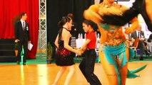 Medley IDSF OPEN LATIN Megève Dancesport 2011  -  part 2/2 - Open de France de danse sportive -