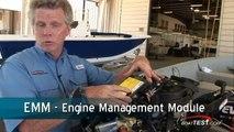 Evinrude E-TEC 130 H P  Engine Features Reviews - By BoatTest com