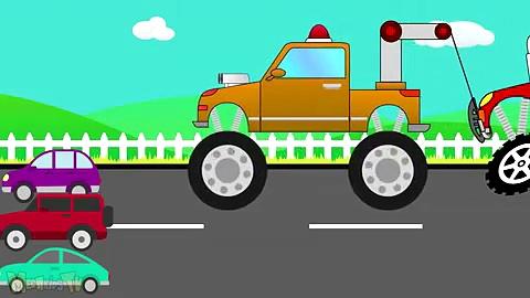Trucks Compilation –  Monster Trucks For Children