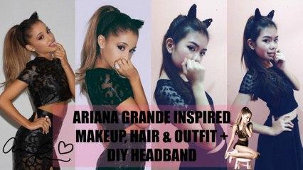 Ariana Grande Live in Manila 2015// Makeup, Hair & Outfit Ideas+ DIY Cat Ears Headband